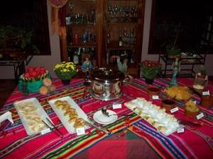 262331 14 jantar mexicano 300x225 Decoração de Festa Mexicana