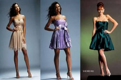 262660 vestidos curtos para festas Vestidos para madrinhas de casamento: moda 2012