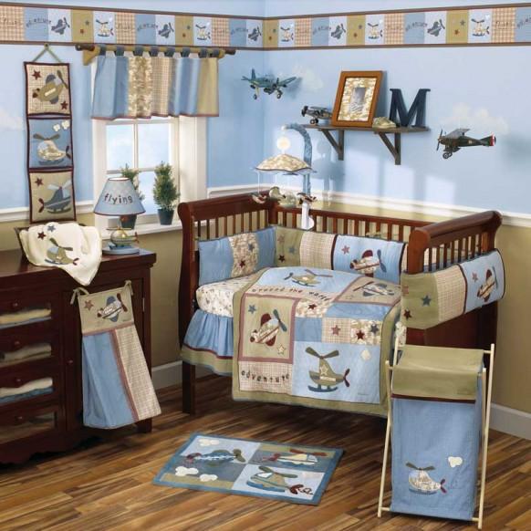 262751 quarto azul2 Decoração para quartos de bebê: veja fotos