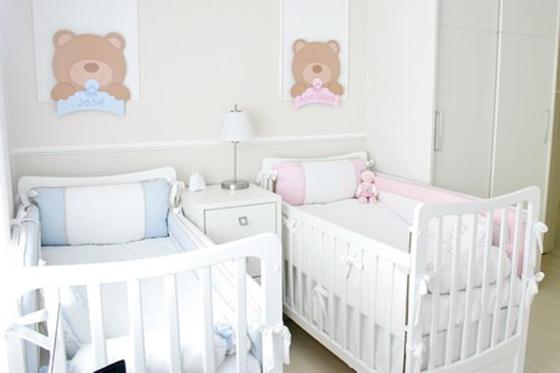 262751 quarto gemeos Decoração para quartos de bebê: veja fotos