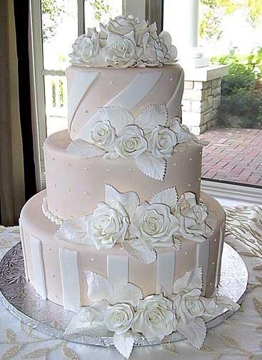 262870 Bolos Decorados para Casamento 1 Bolos Decorados para Casamento   Fotos e Sugestões