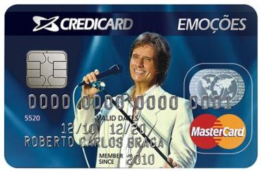 264576 cartao credicard emoções roberto carlos 2 Cartão Credicard Emoções Roberto Carlos