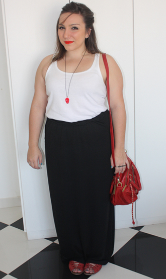 265054 maxi skirt fat Alongando Saias e Vestidos