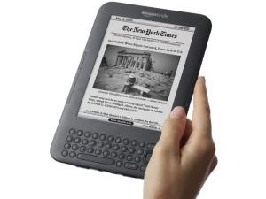 266805 Kindle3 300x225 Leitores Digitais, E books Reader: Confira Modelos e Onde Comprar