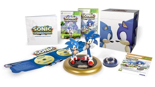 268784 Sega anuncia edi%C3%A7%C3%A3o especial de Sonic Generations2 Sega Anuncia Edição Especial de Sonic Generations