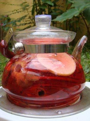 26880 Hibisco Chá de Hibisco   Como fazer