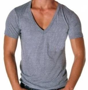 270601 1284986547 122715461 3 Camisa Gola V Visual Masculino para Balada: Sugestões de Roupas