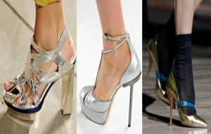 Destaques dos Sapatos da Semana de Moda de NY