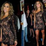 273641 Sabrina Sato com vestido nude de renda 150x150 Vestidos de Renda 2012   Fotos e Tendências