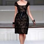 273641 Vestido com Renda preto 150x150 Vestidos de Renda 2012   Fotos e Tendências