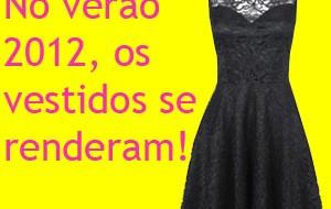 Vestidos de Renda 2012 – Fotos e Tendências