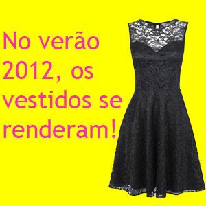 273641 os vestidos se renderam Vestidos de Renda 2012   Fotos e Tendências