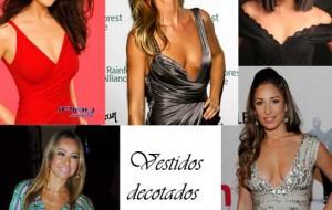 Modelos de Vestidos Decotados