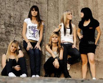 274468 banda6 Bandas de Rock Famosas Formadas por Mulheres