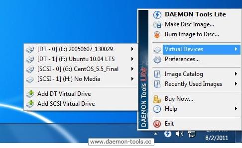 274835 DAEMONTools2 DAEMON Tools Lite, Emulador de Imagens