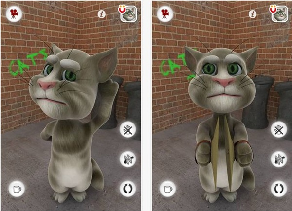 Conteúdo relacionado sobre Talking Tom Cat, Aplicativo para iPhone e