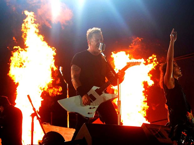 277390 metallica Mega Show do Metallica no Rock in Rio 2011