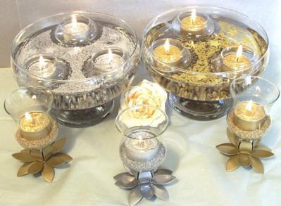 278197 decoração com água e velas Aprenda como usar água na decoração