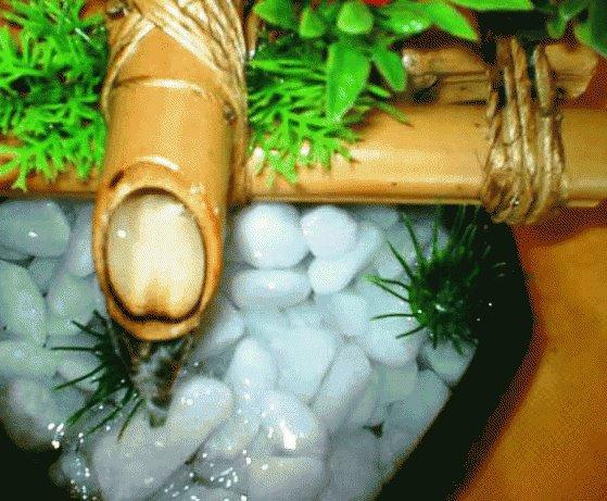 278197 mini fonte de água Aprenda como usar água na decoração