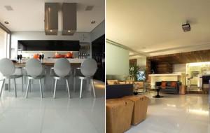 Conheça o piso ideal para cada ambiente da casa