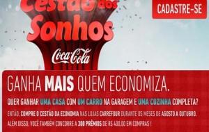 Promoção Cestão dos Sonhos Coca-Cola e Carrefour