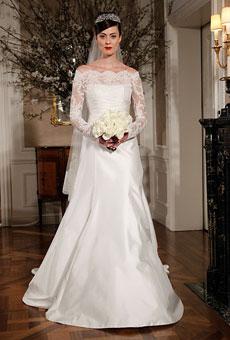 279184 Vestido de noiva manga longa Vestidos de Noiva 2012