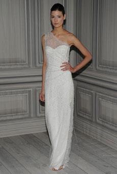 279184 Vestido de noiva ombro único Vestidos de Noiva 2012
