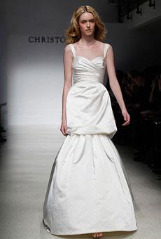 279184 vestido de noiva duas saias Vestidos de Noiva 2012