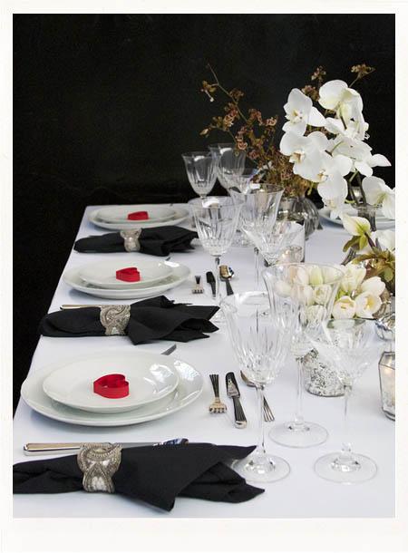 279981 decoração de mesa com orquideas Decoração Da Casa Com Orquídeas