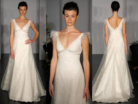 281025 vestido de noiva com sobreposição de tule Vestidos de noiva com tule: tendências e modelos