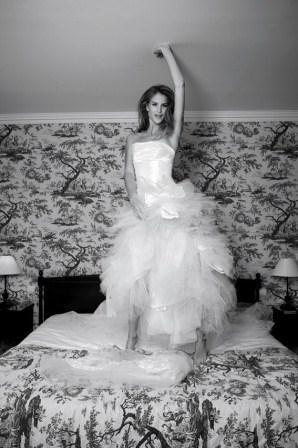 281025 vestido de tule da Cymbeline Vestidos de noiva com tule: tendências e modelos