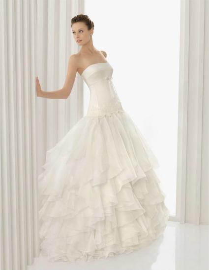 281025 vestido tule rosaclara Vestidos de noiva com tule: tendências e modelos