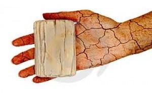 Cuidados diários com a pele seca