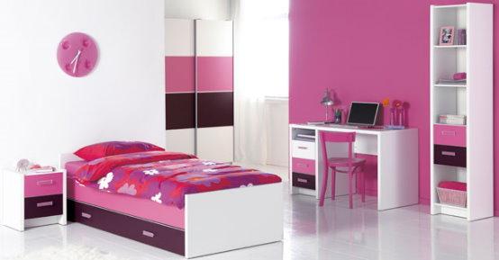 283602 decoracao quarto menina Ideias modernas para decorar quarto infantil