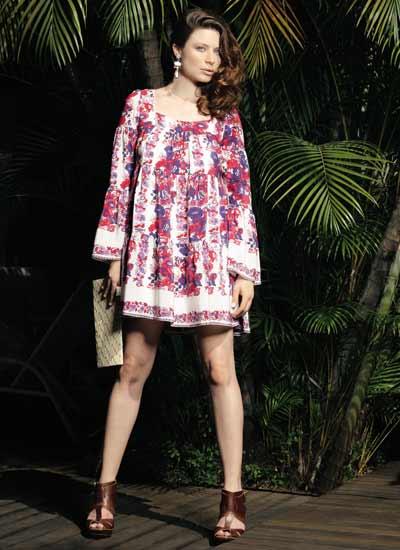 283694 vestido solto primavera Modelos de vestidos que estão em alta na primavera