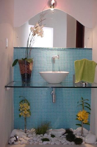 285021 pia do banheiro com jardim de inverno Modelos de jardim de inverno: fotos e dicas de como fazer