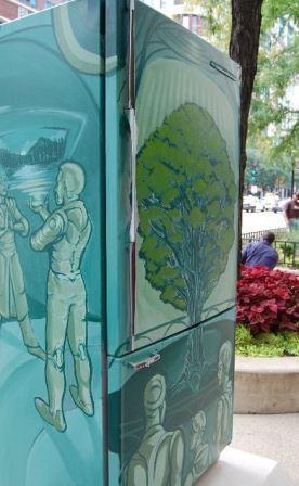 285903 arte em geladeiras Maneiras criativas de mudar o visual da geladeira