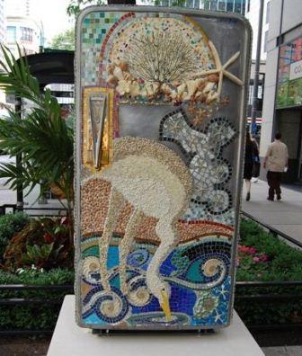 285903 geladeiras antigas artesanato decoracao Maneiras criativas de mudar o visual da geladeira
