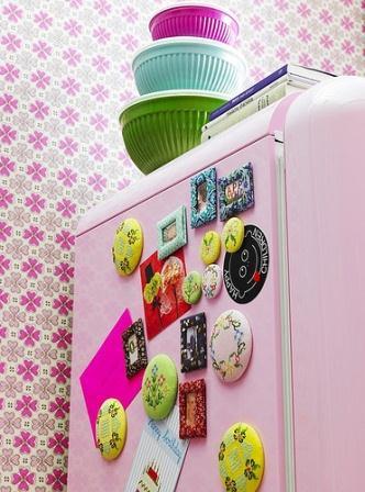 285903 imã de geladeira Maneiras criativas de mudar o visual da geladeira