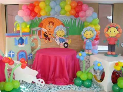286092 Decoração com balões 1 Decoração com bexigas para festa infantil