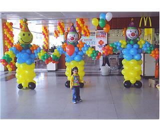 286092 Decoração com balões 3 Decoração com bexigas para festa infantil