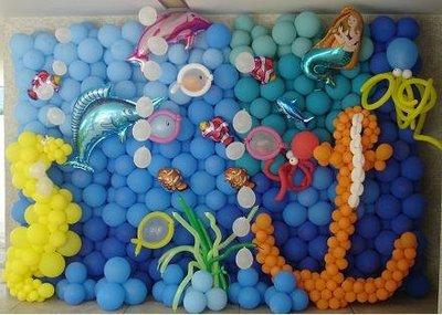 286092 Decoração com balões 4 Decoração com bexigas para festa infantil