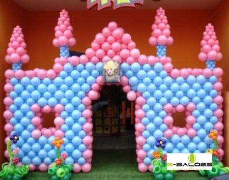 286092 Decoração com balões 5 Decoração com bexigas para festa infantil