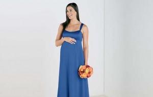 Modelos de vestidos de festa para grávidas