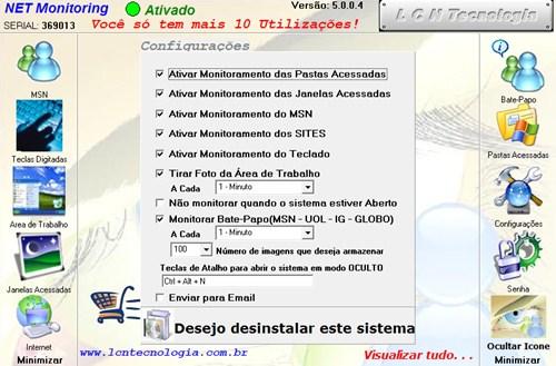 288023 NETMonitoring NET Monitoring, monitoramento completo de computadores