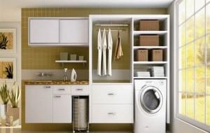 Dicas de decoração para uma lavanderia planejada e organizada