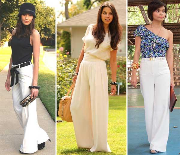 290895 pantalona2 Usando: Calça, Short e Blazer Brancos