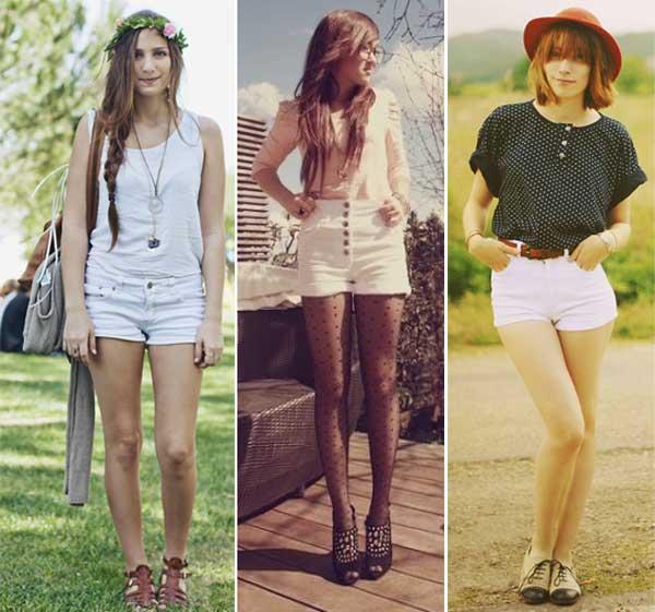 290895 short jeans2 Usando: Calça, Short e Blazer Brancos