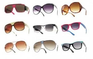 Óculos de sol para o verão 2012