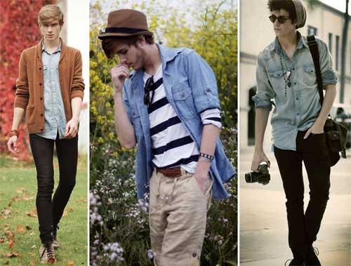 291341 camisa jeans Moda Masculina   Dicas e Como Usar